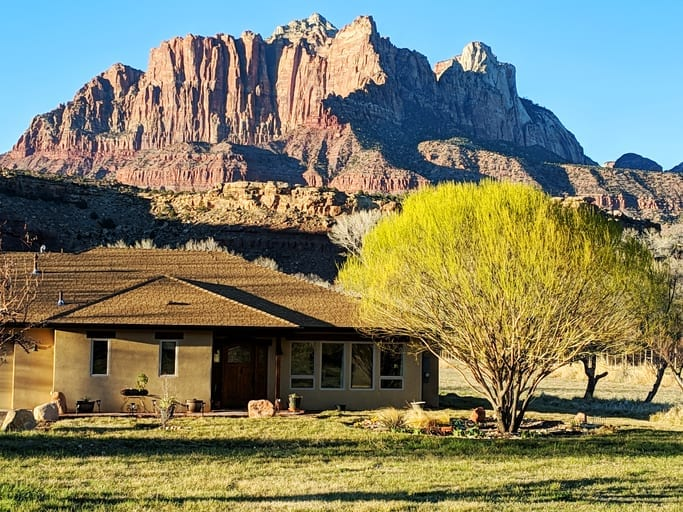 Rockville Utah Zion Ranch House Home System Covered System